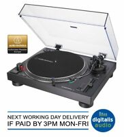 Audio-Technica AT-LP120X Turntable Professional USB Transfer Record Player Black