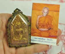 Phra Khunpaen Khun Paen Love Thai magic attract Lady Charm appeal AMULET Lp PINA