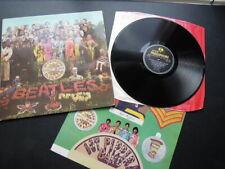 BEATLES UK Sgt Pepper LP ' NO ' Day in the life ' credit Misspress EX