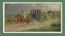 C1926 CARRERAS TURF CIGARETTES LARGE CARD HORSES & HOUNDS NO.6 WHEEL OF FORTUNE