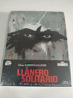 El Lone Ranger Johnny Depp Steelbook - Blu-Ray Spagnolo Inglese nuevo