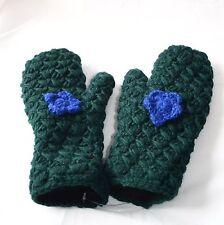 Fäustlinge_Handschuhe aus Wolle_mit Fleecefutter_wollen gloves_Naturmode, Goa