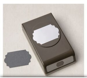 """Stampin' Up!  """"Everyday Label Punch"""" Paper Punch New & Unused"""
