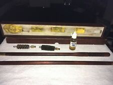 A Vintage Gun Cleaning Boxed Kit