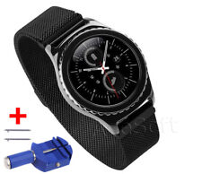 Accessory Milanese Magnetic Wrist Watchband For Samsung Galaxy Watch 46mm & Tool