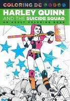 Harley Quinn & the Suicide Squad Adult Coloring Book TPB DC Comics 2016