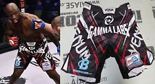 King Mo Signed Bellator 169 Fight Worn Used Shorts Trunks BAS COA Satoshi Ishii