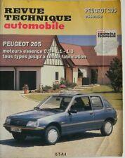 revue technique automobile RTA Peugeot 205 essence cip 708.2