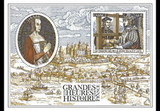 France 2017 - Great Moments in French History 2017 - Miniature Sheet
