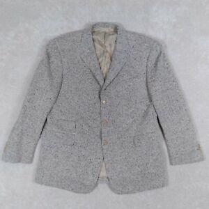 Ralph Lauren Purple Label Men's 48 Sports Coat Blazer Wool Cashmere Nylon Gray