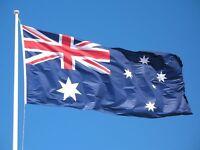 Australian Flag & 33ft Australia Day OZ Fabric Bunting
