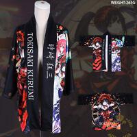 New Anime Kimono Date A Live Cosplay Costume Yukata Unisex Outerwear Haori Coat