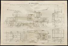 Tunnel du Simplon, Locomotive électrique à 4 essieux. 1909, Génie civil