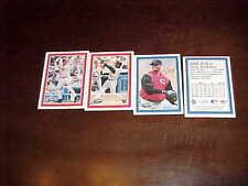 2001 Oreo Ritz Baseball All Star Card Set (4) Derek Jeter Ken Griffey Jr