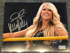 KELLY KELLY AUTOGRAPHED SIGNED WWE 8x10 PHOTO TRISTAR HOLO