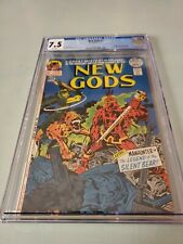New Gods #7 CGC 7.5 1st Steppenwolf, Origin of Mister Miracle & Orion DC WHITE