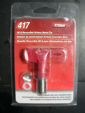 New listing Titan 417 sc-6 reversible airless sprayer tip