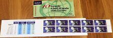Iceland Booklet 1995 Europa Cept 55kr World Postage - MNH - Excellent!