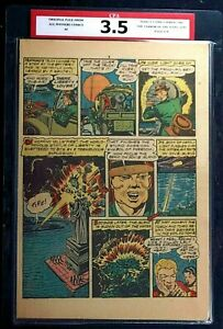 All Winners Comics #4 CPA 3.5 SINGLE PAGE #7/8 Human Torch Timely Comics