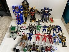 Power Rangers & Transformers Vintage Toy Lot (Mostly From The 90s)
