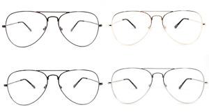 Titanium Frames Photochromic Sunglasses / Eyeglasses - No Prescription