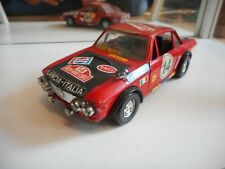 Politoys Lancia Fulvia 1600 HF in Red on 1:25