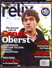 RELIX MAGAZINE SEPT/OCT 2008 CONER OBERST NEIL YOUNG LINDSEY BUCKINGHAM BUDDY+CD