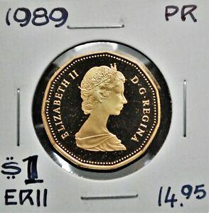 1989 Canada $1 Proof Struck Loonie