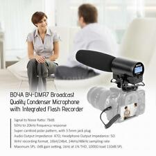 BOYA BY-DMR7 Shotgun Condenser Microphone With Integrated Recorder & LCD Display