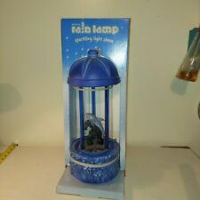 """New  in Box Vintage Dolphin Rain Fall Dripping Oil MOTION Lamp 16""""  Works Light"""