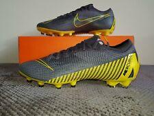 Nike Mercurial Vapor 12 Elite AG-Pro - UK Size 7.5 - AH7379 070 - Grey/Yellow