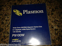 Plasmon P9100W 9.1GB Magneto Optical  WORM - NEW & SEALED 4096 byte/sector