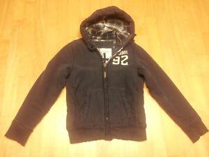 Abercrombie Hood Grindstone Creek Jacket Full Zip up Size Small