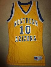 Northern Arizona Lumberjacks #10 Basketball Game Worn Used NAU Jersey 40