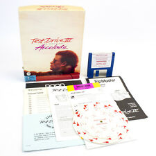 """Test Drive III: The Passion for PC 3.5"""" in Big Box by Accolade, 1990, CIB"""