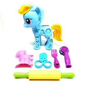 Play-Doh My Little Pony Rainbow Dash Style Salon Mould With Play Doh Tools