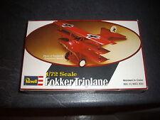 REVELL  FOKKER TRIPLANE PLASTIC MODEL 1/72