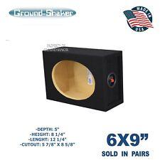 6x9 Single Speaker Enclosure / 6X9 Speaker enclosure / Pair of 6x9 speaker box