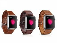 Quality Vintage Genuine Leather Watch Strap Band for Apple Watch Series 3 2 42mm