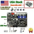 ?USA?3 Axis USB 1.1 GRBL Control Board For CNC Router Milling Mini Laser Machine