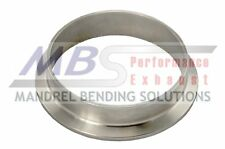 """V-Band Exhaust Flange pair 3 1/2"""" 304Stainless Steel Universal MBS PREMIUM"""