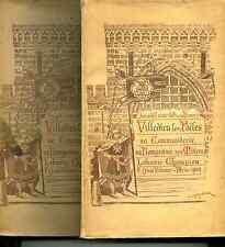 Grente et Havard Villedieu-les-Poëles Manche.Commanderie,bourgeoisie,métiers