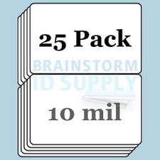 10 mil Credit Card(CR80) Size Butterfly Laminate Pouches for Teslin - 25 pack