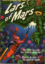 Lars of Mars 11 Painted MONSTER COVER 1951 Norm Saunders ? Pre-Code Space Alien