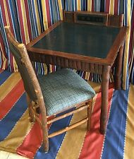 Disney Wilderness Lodge Old Hickory Furniture Co Game Table Guest Room Prop