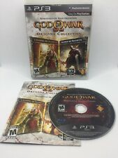 God of War Origins Chains Of Olympus Ghost Of Sparta PlayStation 3 PS3 Complete!