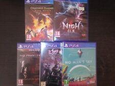 Pack lote 5 juegos games nuevos PS4