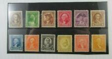 1932 United States SC #704-15 WASHINGTON Bicentennial  MNH stamp set