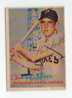 Paul Smith 1957 Topps signed autographed card Pittsburgh Pirates