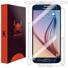 Skinomi Full Body Skin+Clear Screen Protector for Samsung Galaxy S6